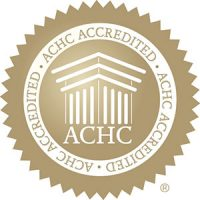 ACHC Gold Seal of NCP Accreditation
