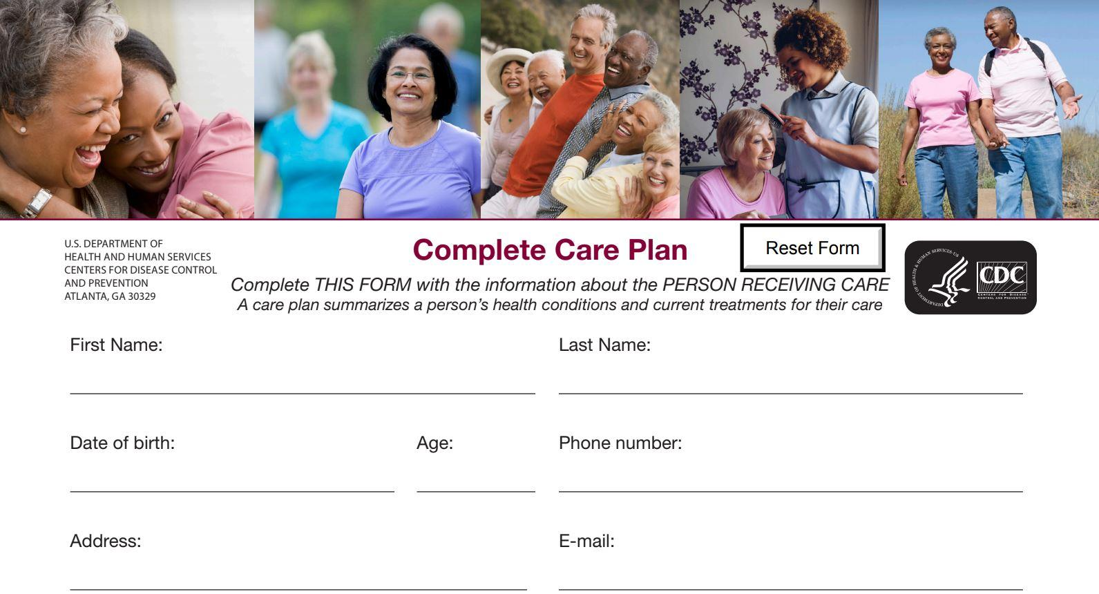 complete care plan