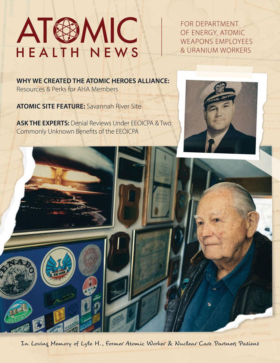 Fall 2021 Atomic Health News Cover